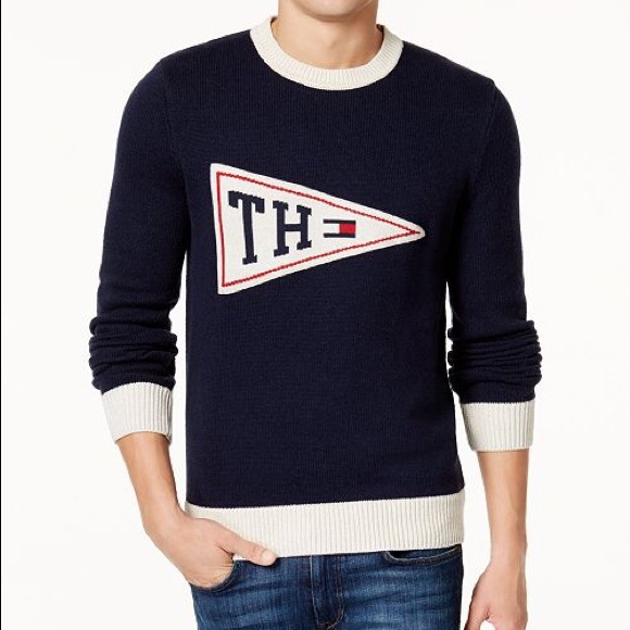 Tommy Hilfiger Sweaters Pennant Sweater From Macys Poshmark